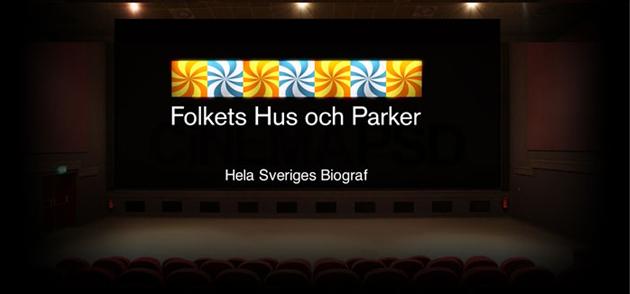 Sportlovsbio på Åmotfors Folketshus